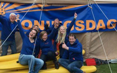Welkom nieuw bestuur Oranje Comité Bennebroek en bedankt voor jaren trouwe organisatie van de Koning(inne)dag in Bennebroek